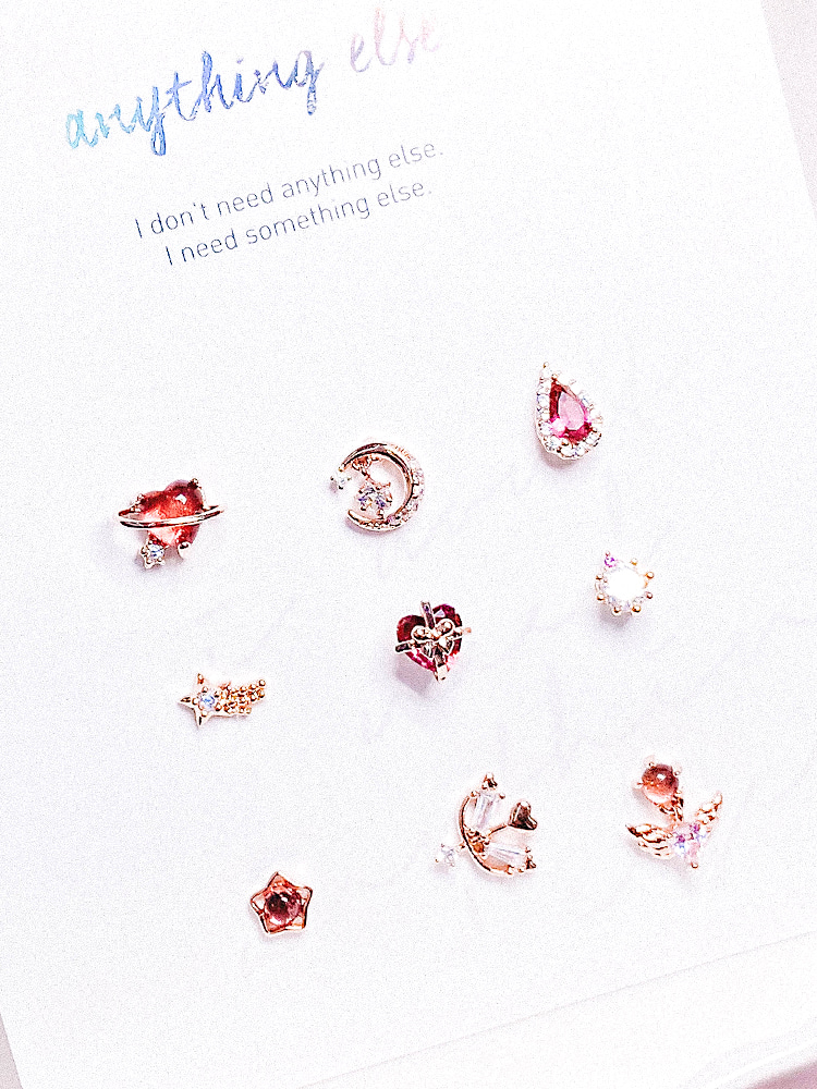 선물 꾸러미 Piercing/Earring SET
