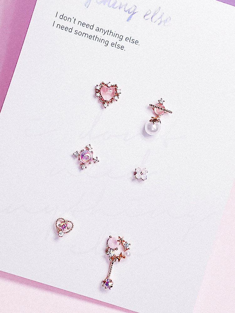 Make a wish Piercing/Earring SET