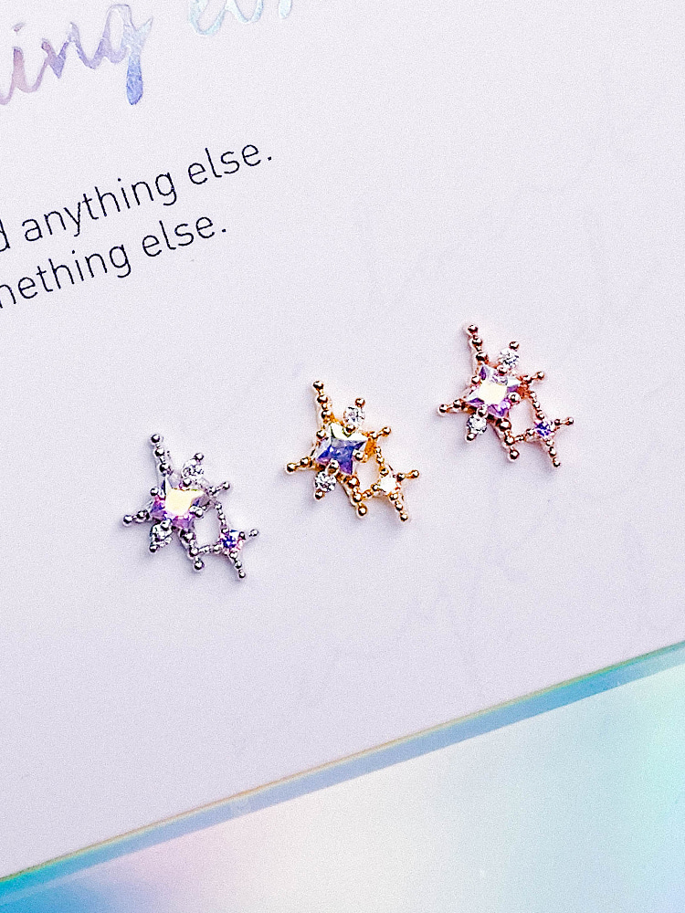 Star Cluster Piercing/Earring