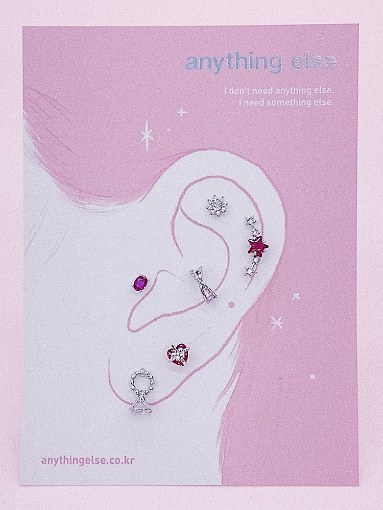 핫핑크의 반란 Piercing/Earring SET