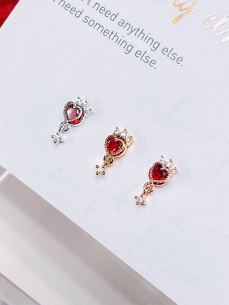 [RED] Magic Lamp Piercing/Earring