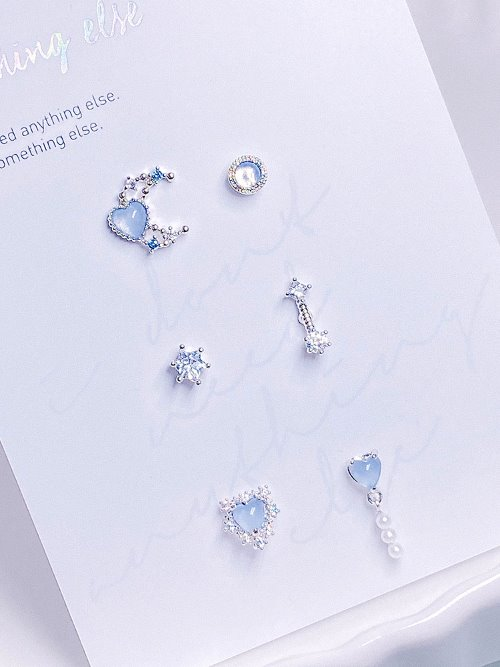 Breath Piercing/Earring SET