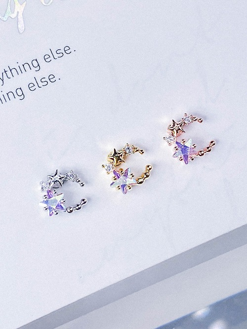 [AB] Moving Universe Piercing/Earring