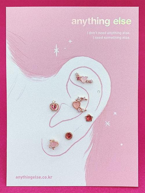 달콤한 망설임 Piercing/Earring SET