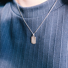 Nothing Silver Necklace