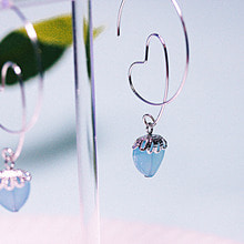 We're in Love Earring [Sky Blue]