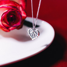 Love-in Silver Necklace