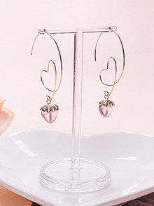 We're in Love Earring [Pink]