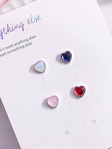 Pure Heart Earring / Piercing