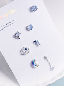 Blue planet Piercing SET