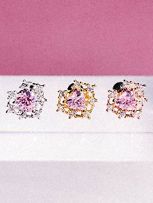 [PINK]MINI Palace Piercing/Earring