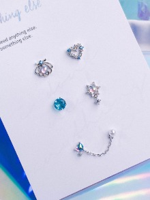 Paradise Piercing/Earring SET