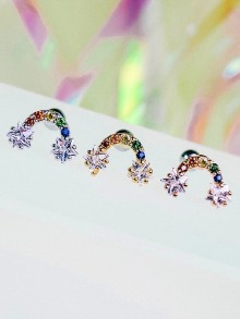 Rainbow Bridge Piercing/Earring