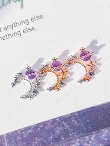 [VIOLET] Moonwalk Piercing/Earring